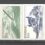 Suedia.1978 Turism,carnet  CS.377, Nestampilat