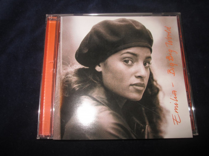 Emilia - Big Big World _ CD,album _ Universal (Suedia,1998) _RnB,swing,synth-pop foto mare