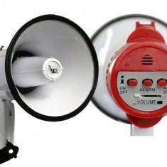 Megafon portavoce cu microfon si sirena 10W Voice Kraft