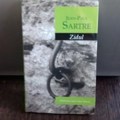 ZIDUL - JEAN PAUL SARTRE - Roman
