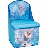 Scaun si cutie pentru depozitare Disney Frozen