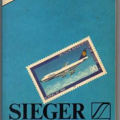 CATALOG TIMBRE SIEGER 1982 GERMANIA BERLIN ZONA AMERICANA ENGLEZA