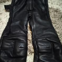 Pantaloni moto, din piele, model de dama - Imbracaminte moto