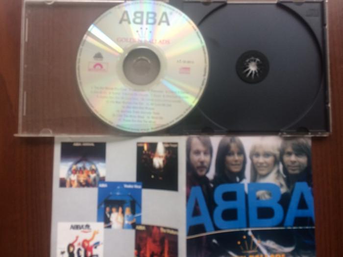 ABBA Golden Ballads cd disc compilatie 17 hituri anii 70/80 polydor muzica pop foto mare