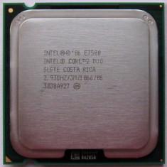 Procesor PC(DESKTOP)  Intel Core 2 Duo E7500 2.93Ghz 3Mb cache LGA 775