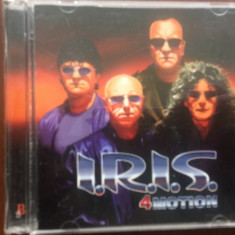 Iris 4 motion nelu cristi dublu disc 2 cd muzica rock roton records 2003