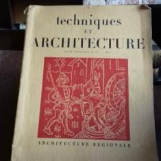 TECHNIQUES ET ARCHITECTURE NR.1-2 DIN 1947 (TEHNICI SI ARHITECTURA)