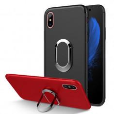 Carcasa de protectie / husa cu suport magnetic si mod stand pt Apple iPhone X 10