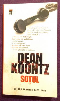 Sotul - Dean Koontz foto