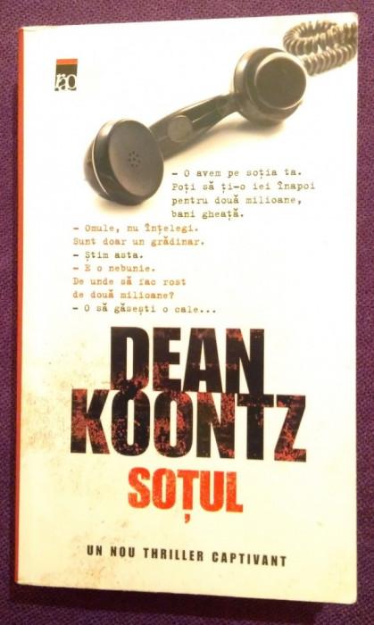 Sotul - Dean Koontz foto mare