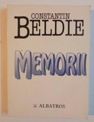 Memorii  : O jumatate de veac in Bucuresti (1900-1950) / C. Beldie foto