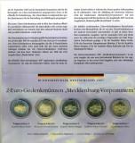 GERMANIA  - Set 5 buc x 2 Euro 2007-  A D F G J, Europa