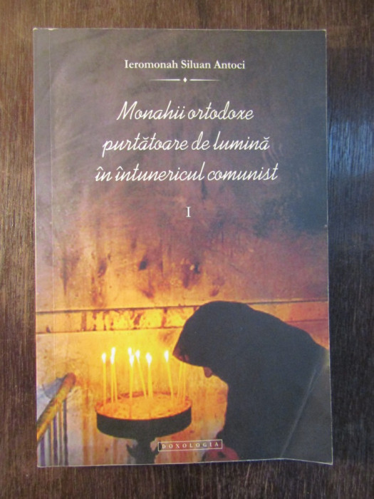 Monahii ortodoxe purtătoare de lumină , Ieromonah Siluan Antoci foto mare