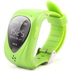 Ceas GPS Copii iUni U11, Telefon incoporat, Alarma SOS, Green + Spinner Titirez Cadou - Smartwatch