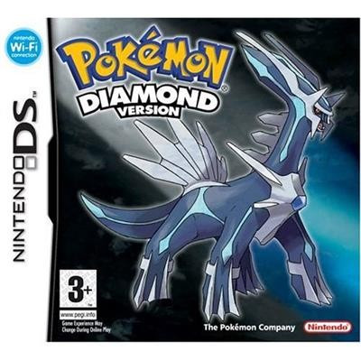 Pokemon Diamond Nintendo Ds foto mare