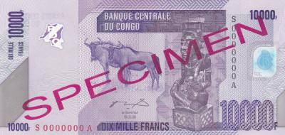 Congo 10 000 Francs 18.02.2006 UNC foto