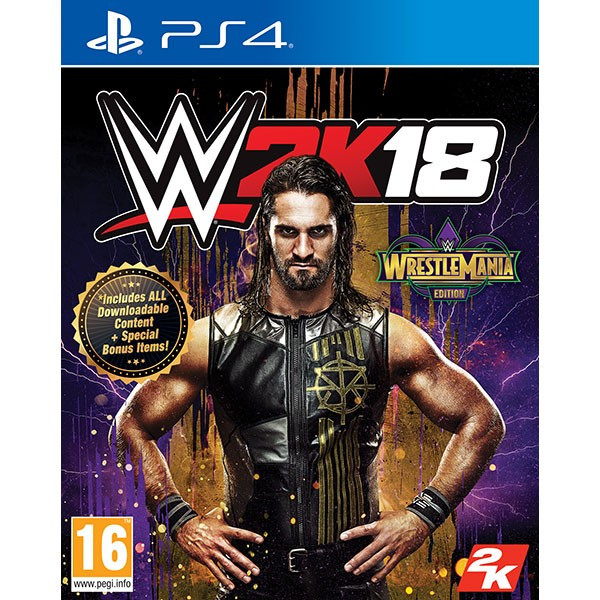 Wwe 2K18 Wrestlemania Edition Ps4 foto mare