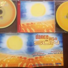 Dance into the sun dublu disc 2 cd Muzica Pop emi records dance compilatie 2000 editie vest