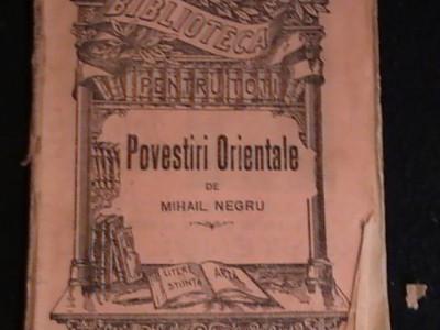 POVESTIRI ORIENTALE-MIHAIL NEGRU- foto