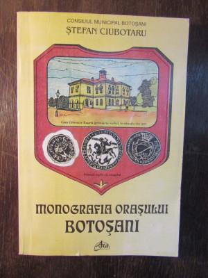 MONOGRAFIA ORASULUI BOTOSANI -STEFAN CIUBOTARU( CU DEDICATIE ) foto
