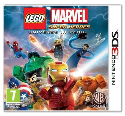 Lego Marvel Super Heroes Nintendo 3Ds foto