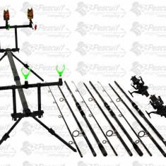 Kit Pescuit Complet Pescuit Crap 3.9m Cu Mulinete7000 Long Cast - Set pescuit