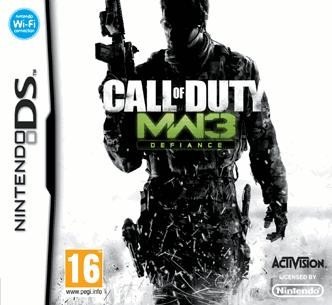 Call Of Duty Modern Warfare 3 Nintendo Ds foto mare