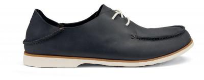 Pantofi piele Olukai Holokai Dark Shadow  43 foto
