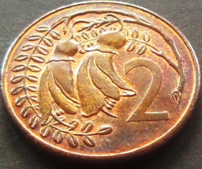 Moneda 2 CENTI - NOUA ZEELANDA, anul 1982  *cod 3169 - UNC DIN SET NUMISMATIC foto mare