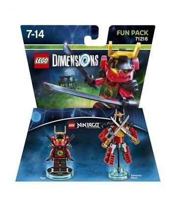 Set Lego Dimensions Fun Pack Ninjago Nya foto mare