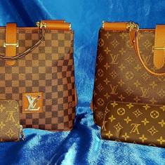 Geanta - Geanta Dama Louis Vuitton, Culoare: Maro, Marime: Medie