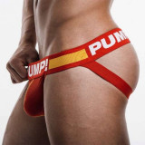 Sexy Chilot Chiloti Jockstrap Barbati Male Pump Push Up Suspensor Open Back, Alb, Albastru, Rosu, M
