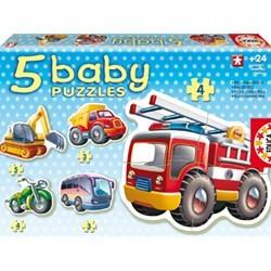 Baby Puzzle Vehicule foto