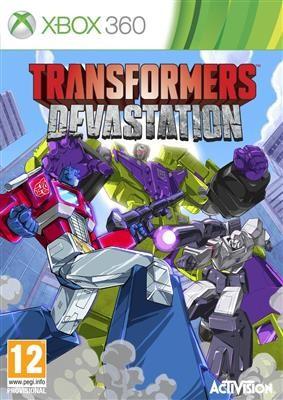 Transformers Devastation Xbox360 foto mare