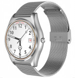 Ceas Smartwatch iUni N3 Plus, BT, 1.3 Inch, IOS si Android, Silver