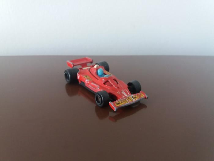 MAJORETTE Ferrari 312 T2 no.232, scara 1/50