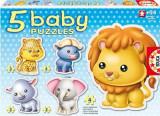 Puzzle Bebe Cu Animale Savana, Educa