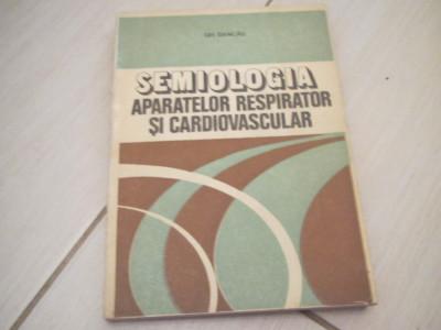 SEMIOLOGIA APARATELOR RESPIRATOR SI CARDIOVASCULAR GH.DANCAU foto