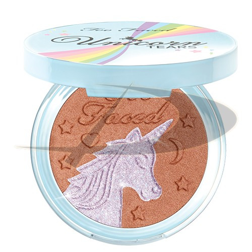 Too Faced Unicorn Tears Iridescent Mystical Bronzer 7g foto mare