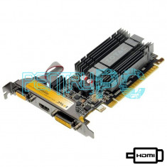 Placa video ZOTAC GeForce 210 1GB GDDR3 64-Bit VGA DVI HDMI Silent GARANTIE !!! - Placa video PC Zotac, PCI Express, nVidia