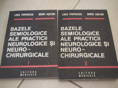 BAZELE SEMIOLOGICE ALE PRACTICII NEUROLOGICE SI NEUROCHIRURGICALE POPOVICIU 2 V foto