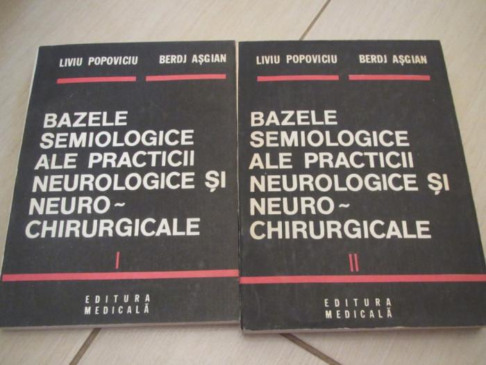 BAZELE SEMIOLOGICE ALE PRACTICII NEUROLOGICE SI NEUROCHIRURGICALE POPOVICIU 2 V foto mare