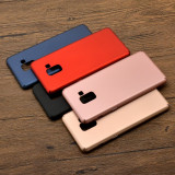 Bumper / Husa plastic ultra subtire Samsung Galaxy  A6 2018,A8 2018,A8 plus 2018, Alt model telefon Samsung, Albastru, Auriu, Negru, Rosu, Roz