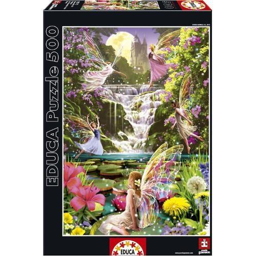 Puzzle Cascada Zanelor - 500 Piese foto mare