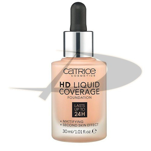 Catrice HD LIquid Coverage Fond de ten 030 Light Beige foto mare