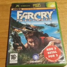 JOC XBOX clasic Far cry instincts ORIGINAL PAL / STOC REAL / by DARK WADDER - Jocuri Xbox Ubisoft, Actiune, 16+, Single player