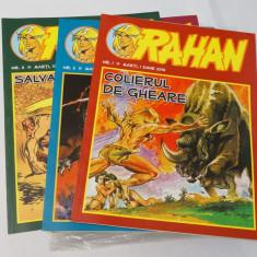 RAHAN Colectie revista Rahan - 28 numere 1 - 28 - limba romana - benzi desenate