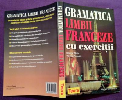 Gramatica Limbii Franceze Cu Exercitii - George Ghidu, Valeriu Pisoschi foto