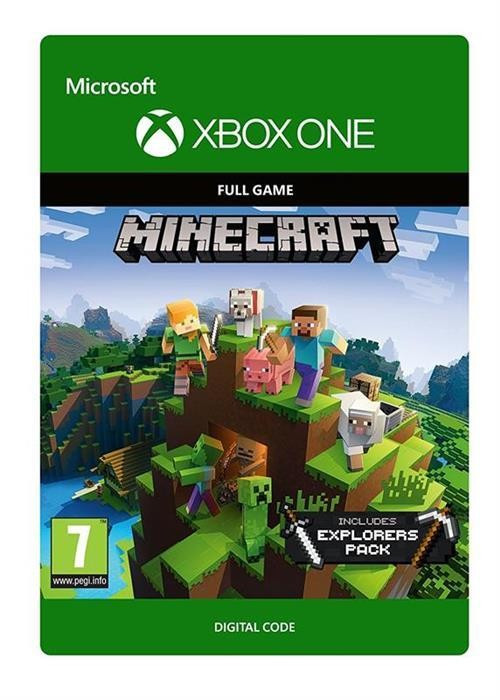 Minecraft Explorers Pack Full Game Download Code Xbox One