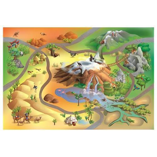 Covoras De Joaca Classic Antiderapant - Desert foto mare
